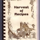 Harvest of Recipes 1985 United Methodist Church Bloomfield Iowa Cookbook