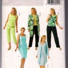 Butterick B4471 Sewing Pattern Sleeveless Top Dress Pants Jacket  Size 26W 28W 30W 32W Uncut