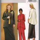 Butterick 3979 Sewing Pattern Plus Size Women's Jacket Top Skirt Pants Size 22W 24W 26W Uncut