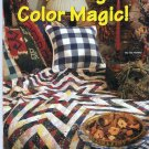 Quilting Color Magic! Sue Harvey Quilt Fabric Color Selection Using Color Wheel Harmonies
