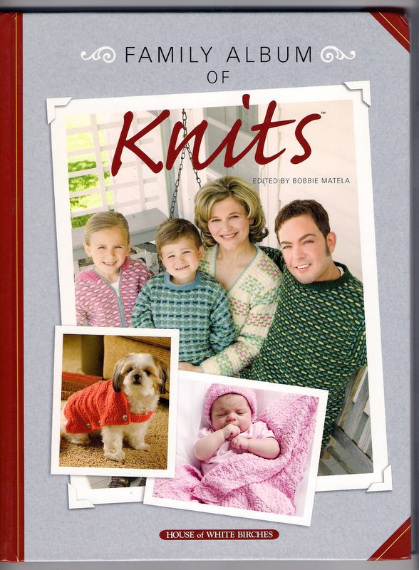 Family Album of Knits 50 Knitted Projects Babies Children Adults Home Pets Christmas Knitting Book