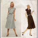 Vintage 1970s Oscar de la Renta Vogue American Designer Sewing Pattern 1916 Size 14 Misses Dress