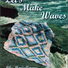 Let's Make Waves Quiltmaking Quilt Pattern Book Lily Marie Amaru