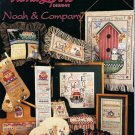 Noah and Company Cross Stitch Chart Pattern 15 Different Designs Noah's Ark