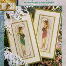 Elegant Angels Cross Stitch Pattern Chart Leaflet Stitch World Full Color Chart