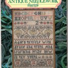Sampler & Antique Needlework Quarterly Magazine Volume 18 Spring 2000 Etuis Globe Samplers Thimbles