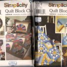 Six Simplicity Quilting Patterns Shirley Botsford Quilt Block Club 9169 9234 9253 9312 9371 9451
