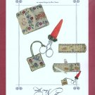 Bunnies in the Garden Cross Stitch Pattern Chart With My Needle Needlework Accessories