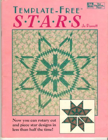 Template Free Stars Quilting Book 11 Variations Easy Lone Star Quilts