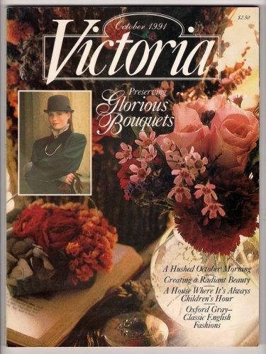 Victoria Magazine October 1991 Preserving Bouquets Billings Farm Kitchen Garden