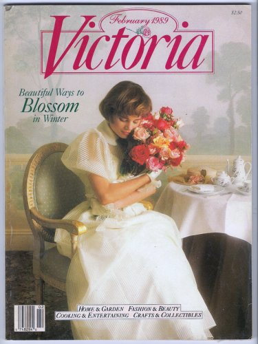 Victoria Magazine Back Issue February 1989 Emily Dickinson Garnishes Spencerian Script