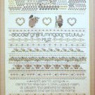 Shepherd's Bush Earth Song Sampler Cross Stitch Chart Pattern Booklet