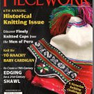 Piecework Magazine 2012 Peruvian Knitted Caps Icelandic Intarsia Navajo Baby Cardigan