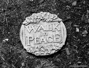 Walk in Peace 11 x 17 Giclee Print