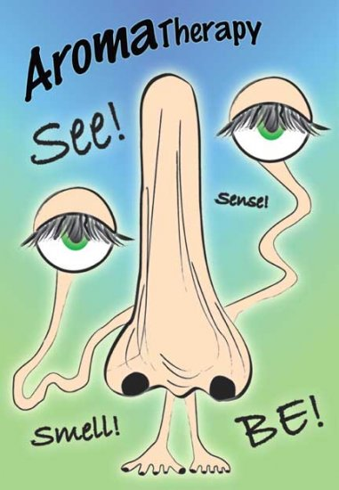 See Smell Be 11 x 17 Giclee Print