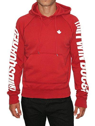 DSQUARED Twin Boost Hooded Sweatshirt