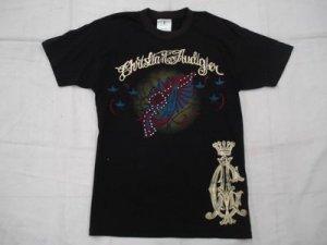 Christian Audiger El Calor Rhinestone T-Shirt