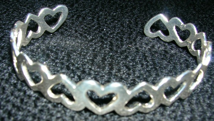 New 925 Sterling Silver Bangle