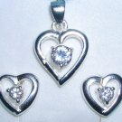Beautiful 925 Sterling Silver Set