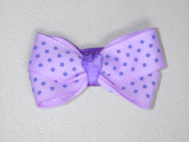 "2"" baby bow - lavender & purple"