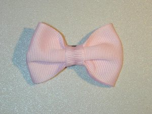 "2"" baby bow - pink"