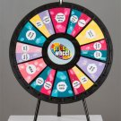 12 to 24-Slot Tabletop Prize Wheel