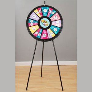 12 to 24-Slot Floor & Table Prize Wheel