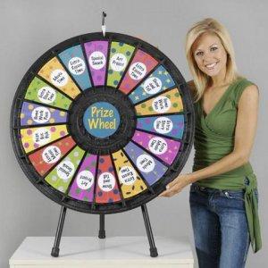 18-Slot Tabletop Prize Wheel