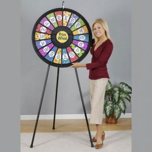 18-Slot Floor & Table Prize Wheel
