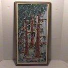 Original Acrylic Polymer Painting-BAYOU-Mimi Heer-1970's-EC-Free Shipping