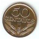 Portuguese 50 Centavos (1972)