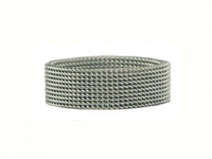Women's Stainless Steel Mesh Ring