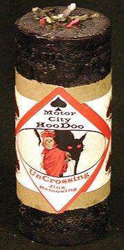 Uncrossing Hoo Doo Candle