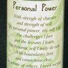 Personal Power Quick Spell