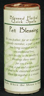 Pet Blessing Quick Spell