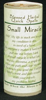 Small Miracle Quick Spell