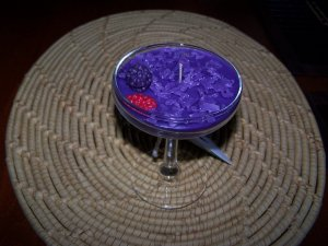 4 oz Lilac Scented Candle