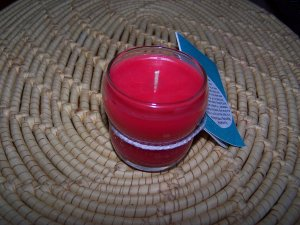 6 oz Wild Cherry Scented Candle