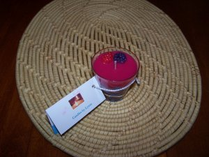 6 oz Rose Scented Candle