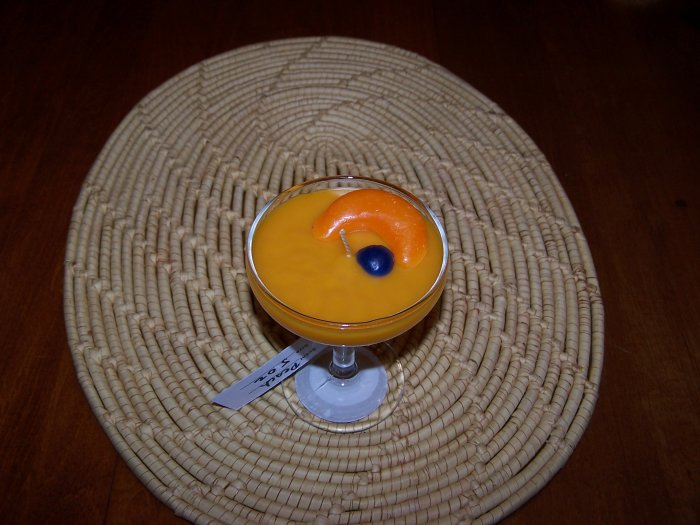8 oz Tangerine Scented Candle