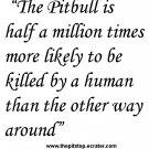 "pitbull t-shirt   ""pitbull truth"""