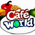 Cafe World T-Shirt Facebook Game