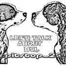 "Brand New Pitbull T-Shirt  ""Lets Talk About BSL"""