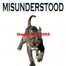 "Brand New pitbull t-shirt  ""Misunderstood """