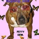"pitbull t-shirt  ""Pitty Diva """