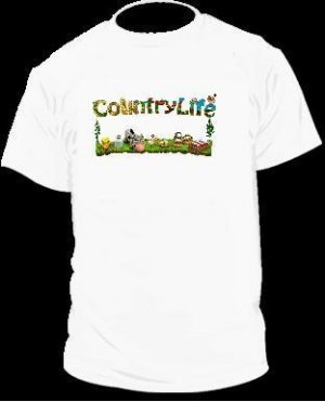 Country Life T-Shirt Facebook Game