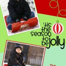 Photo Christmas Card, Christmas Greeting, DIY Christmas Cards