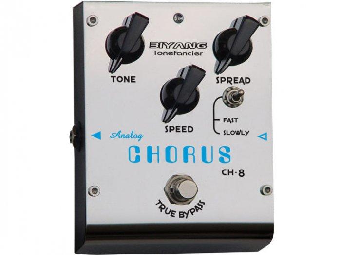 Free Shipping Biyang CH-8�Analog Chorus pedal Guitar Effect Pedal