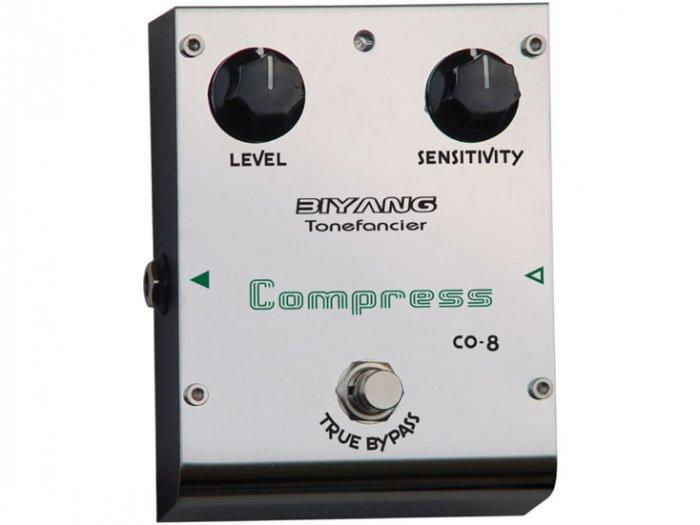 Free Shipping Biyang CO-8�Compressor Guitar Effect Pedal