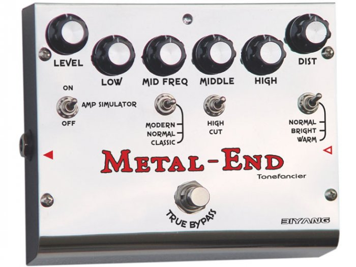 Free Shipping Biyang Metal-End�Metal pedal(King)